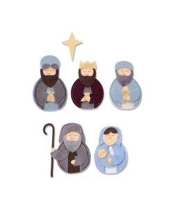 Sizzix Bigz Die L Sweet Nativity