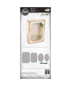 Sizzix Bigz Die XL with Framelits Tim Holtz Curio Box