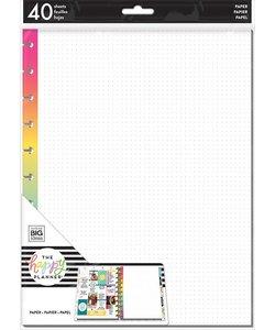 Happy Planner Big Rainbow Dot Grid Fill Paper