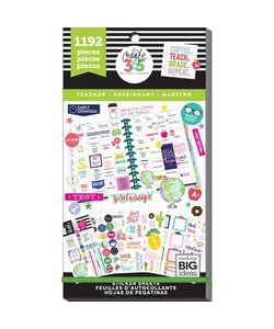 Happy Planner Sticker Value Pack Teacher