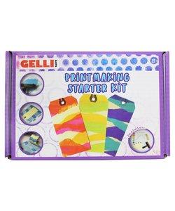 Gelli Arts Gel Printing Kit Paint Making Starter