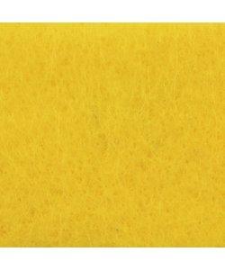 Viltlapje 20x30cm 1mm Geel 200g