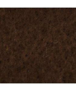 Viltlapje 20x30cm 1mm Donker Bruin 200g