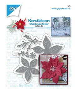 Joy Embossing/Snijmal Kerstbloem