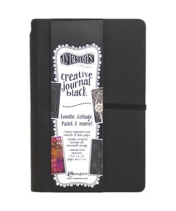 Ranger Dylusions Creative Journal Black Small 20.3 x 12.7cm 48 pag.