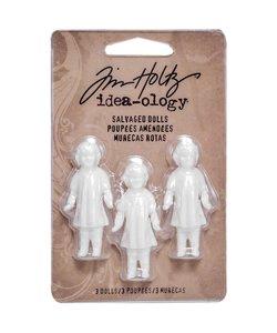 Tim Holtz Idea-Ology Salvaged Dolls 3 pcs.