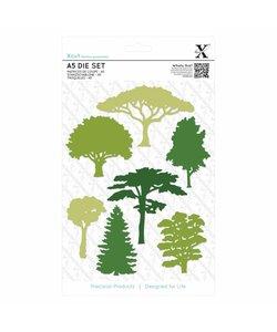 Do Crafts Xcut A5 die set 7 pcs., boom tree