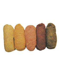 Zuivere scheerwol, 5x20 gr. ass. geel tinten