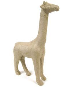 Decopatch Papier mache giraf middel small 19x7x28cm.