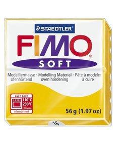 Fimo soft Boetseerklei 57gr. nr.16 Zonnebloem geel