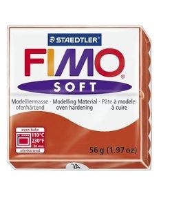 Fimo soft Boetseerklei 57gr. nr.24 Indisch rood