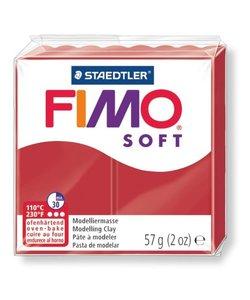 Fimo soft Boetseerklei 57gr. nr.2 Kerst rood