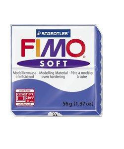 Fimo soft Boetseerklei 57gr. nr.33 Brilliant blauw