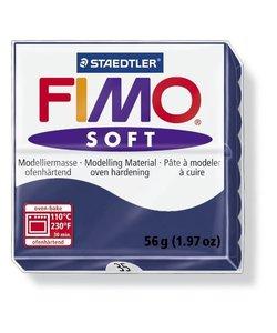 Fimo soft Boetseerklei 57gr. nr.35 Nachtblauw