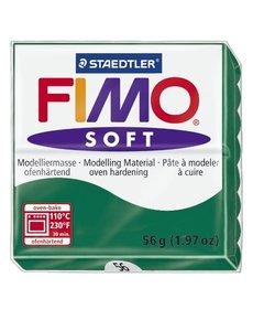 Fimo soft Boetseerklei 57gr. nr.56 Smaragd groen