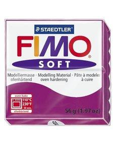 Fimo soft Boetseerklei 57gr. nr.61 Paars