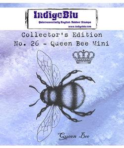 IndigoBlu rbbr stamp Collector's No. 26 Queen Bee