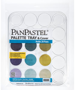 PanPastel Palette Tray & Cover 20 Pans