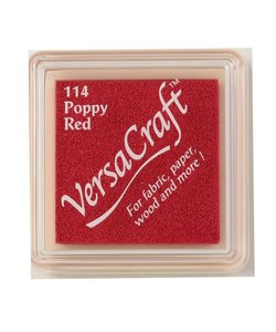 VersaCraft inkpad small Poppy red