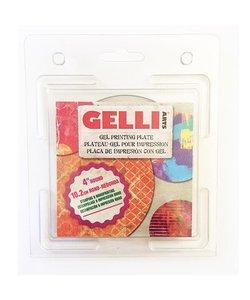 Gelli Arts Gel Printing Plate Rond 4''