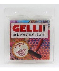 Gelli Arts Gel Printing Plate Rond 6''