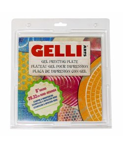 Gelli Arts Gel Printing Plate Rond 8''