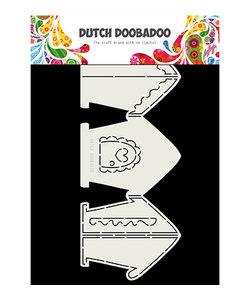 Dutch Doobadoo Card Art A4 Gingerbread House, 297x120mm