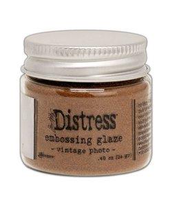 Ranger Distress Embossing Glaze Vintage Photo