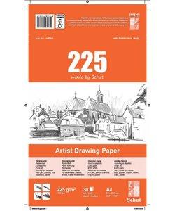 Schut Artist Drawing Paper 225 A4 30st 225g