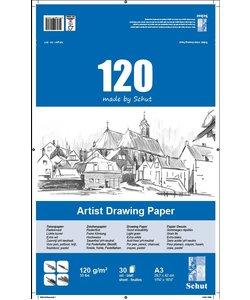 Schut Artist Drawing Paper 120 A3 30st 120g