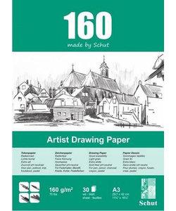 Schut Artist Drawing Paper 160 A3 30st 160g