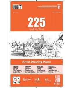 Schut Artist Drawing Paper 225 A3 30st 225g