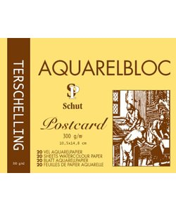 Schut Terschelling Aquarel Papier Blok Classic 300g 10,5x14,8cm