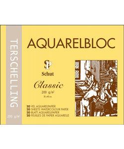 Schut Terschelling Aquarel Papier Blok Classic 200g 30x40cm