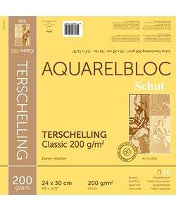 Schut Terschelling Aquarel Papier Blok Classic 200g 24x30cm