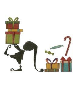Sizzix  Thinlits die set Santa's Helper