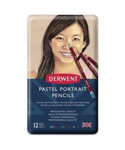 Derwent Pastel Skintones Potloden Set 12st