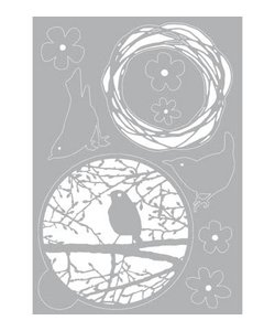 Pronty Mask Stencil - Gel Vogel