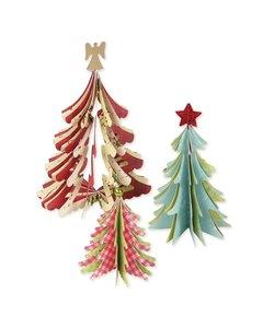 Sizzix Bigz Die 3D Christmas Trees
