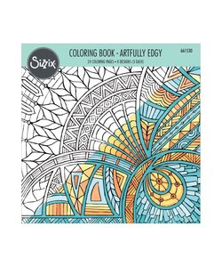 Sizzix Coloring Book Artfully Edgy