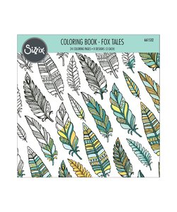 Sizzix Coloring Book Fox Tales