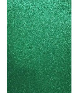 EVA Foam vellen 2mm 22x30cm Groen glitter 5 st.