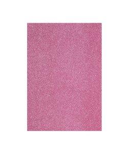 EVA Foam vellen A4  2mm Pink glitter