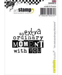 Carabelle Studio Stempel an extra ordinary moment