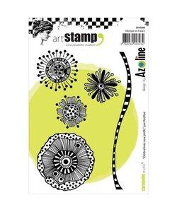 Carabelle art stamp Ombrel. aux pistil
