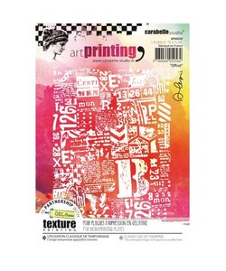 Carabelle art printing A6 offset