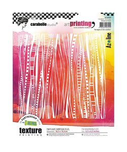 Carabelle art printing vierk A6 Lignes