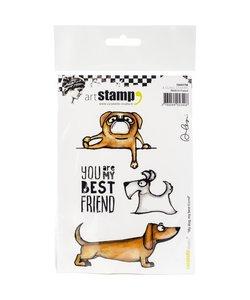 Carabelle Studio Stamp My Dog My Best Friend