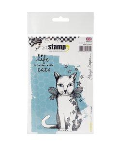 Carabelle Studio Stamp Cat Angel