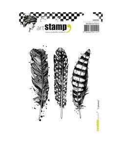 Carabelle Studio Stamp 3 Plumes